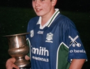 SOH Hurling Morgan Quinn, Captain of the under 14 Hurlers, who won the 2005 championship.