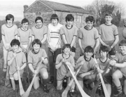 SOH Hurling Under 14s in 1981