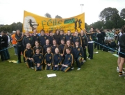 SOH Ladies feile2011 Girls team and banner b