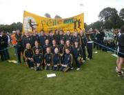 SOH Ladies feile2011 Girls team and banner b