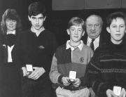 SOH Scor All Ireland Scór na nÓg Question Time winners in 1991