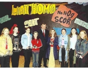 SOH Scor Buaitheoirí Rince Foirne i Scór na nÓg Liatroma 2003