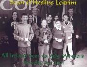 SOH Scor Craobh na hÉireann sa Nuachleas i Scór na nÓg 2001
