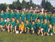 SOH Underage Sean O'Heslins Under 12s before game against Allen Gaels on 23 July 2004