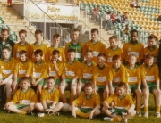 SOH Underage Under 14 team beaten in the Under 14 13 a side Championship in 2008