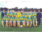 SOH Underage Under 16 Championship, Div 3 Winners 2003